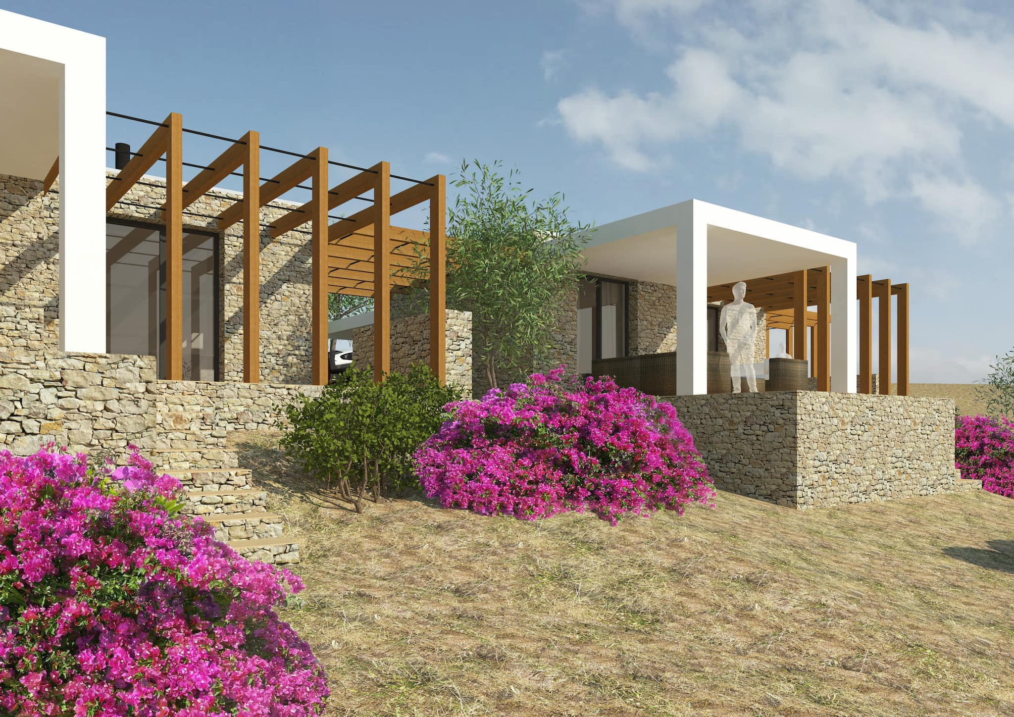 Our investment project for luxurious villas in Xerokampos, Crete